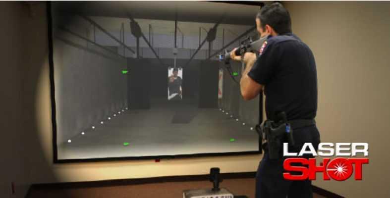 Strzelnica sportowa - Laser shot