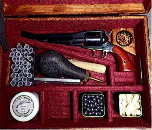 Strelnica czarnoprochowa - Remington